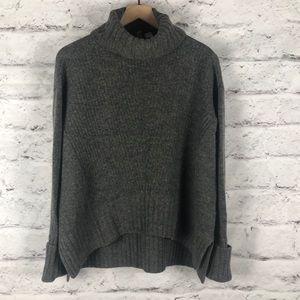 Anthropologie MOTH Oversize High Low Sweater XS